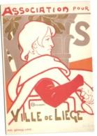 Emile Berchmans - L'Encouragement Des Beaux-Arts - Affiche Lith. Coul. - Liège  1896 - Luik