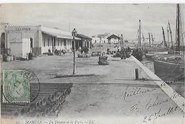 TUNISIE : MAHDIA  - La Douane Et Le Port (1908) - Tunisia