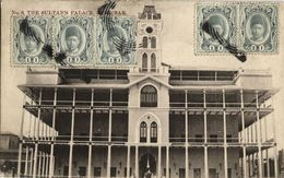 Tanzania, ZANZIBAR, The Sultan's Palace (1910s) Postcard - Tanzania