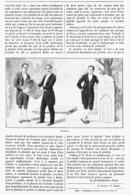 "MAGIE-ILLUSION-PRESTIDIGITATION "" LA DISPARITION ET LA REAPPARITION  "" ( PRESTIDIGITATEUR ALBER )  1899 - Théâtre"