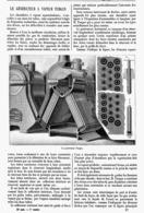 """LE GENERATEUR à VAPEUR  """" TURGAN """"   1899 - Technical"""