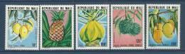 """Mali YT 339 à 343 """" Fruits """" 1979 Neuf** - Mali (1959-...)"""