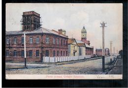 CHILE Punta Arenas Colegio Salesiano Ca 1911 OLD POSTCARD 2 Scans - Cile