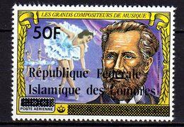 Comores P.A.  N° 161 X Les Grands Compositeurs De Musique Trace De Charnière Sinon TB - Comores (1975-...)