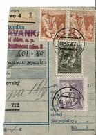 Formulaire Colis-postal  Tchecoslovaquie - Tchécoslovaquie