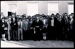 HEESTERT   1973 FOTO 14 X 9 CM - SPARTA HEESTERT OP GEMEENTEHUIS ONTVANGEN - Zwevegem