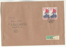 1968 CZECHOSLOVAKIA COVER Multi VICTORIOUS FEBRUARY Stamps - Czechoslovakia