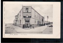 CHILE Punta Arenas Hotel Kosmos Ca 1910 OLD POSTCARD 2 Scans - Cile