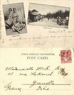 Tanzania, ZANZIBAR, Swahili Girls, Market Street (1903) Postcard - Tanzania