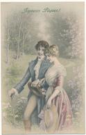 M. M. VIENNE N° 739 - Couple, Joyeuses Pâques !, Wichera - Vienne