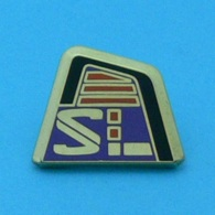 1 PIN'S //    ** SPATULE DE SKI / SALOMON ** . (Arthus Bertrand Paris) - Arthus Bertrand