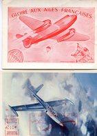 AVIATION(2 CARTES) - 1946-....: Ere Moderne