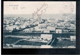 CHILE Punta Arenas 1909 OLD POSTCARD 2 Scans - Cile