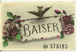 93 - UN BAISER De STAINS - Stains