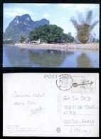 CINA - CHINE - CARTOLINA VIAGGIATA PER L'ITALIA NEL 1984   (2) - 1949 - ... Repubblica Popolare