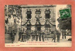 CPA - SAINT-ETIENNE-REMIREMONT (88) - Aspect De La Caserne Pavoisée Pour La Fête Nationale En 1913 - Ad. Weick - Saint Etienne De Remiremont