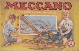 MECCANO Catalogue N°1 La Mécanique En Miniature Manuel D'instructions Année 1948 - Meccano