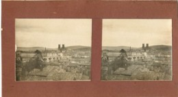 PONT A MOUSSON : Photo Stérescopique - Passerelle Et St Martin Dans Le Fond - Le Xon Et Vittonville - Stereoscopic