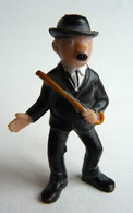 FIGURINE TINTIN  HEIMO 1972 DUPOND (2) CANNE DANS LA MAIN - Tintin