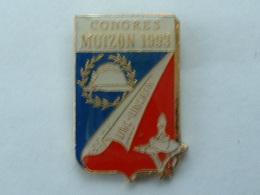 Pin's UNC - UNCAFN - CONGRES MUIZON 1993 - Army
