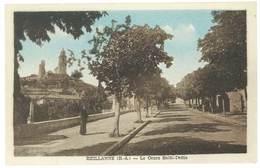 Cpa Reillanne - Le Cours Saint-Denis - France