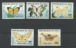 "Mali YT 349 à 353 "" Papillons "" 1979 Neuf** - Mali (1959-...)"