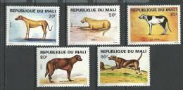"Mali YT 354 à 358 "" Chiens "" 1979 Neuf** - Mali (1959-...)"