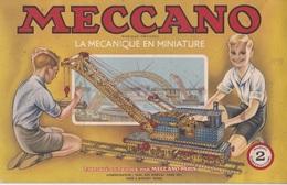MECCANO Catalogue N°2 La Mécanique En Miniature Manuel D'instructions Année 1949 - Meccano