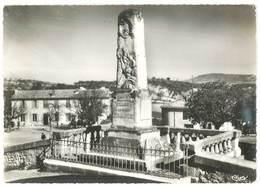 Cpsm Reillanne - Le Monument - L'Hôtel Canoni - France