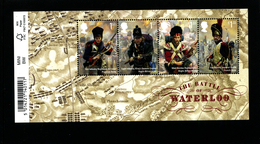 GREAT BRITAIN - 2015  THE BATTLE OF WATERLOO  MS MINT NH - Blocchi & Foglietti