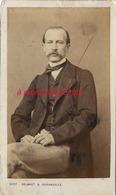 CDV Homme élégant-photo Clignancourt Delmaet Et Durandelle à Paris - Old (before 1900)