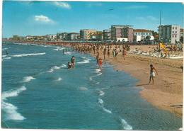 V3160 Igea Marina (Rimini) - Panorama Della Spiaggia - Beach Strand Playa Plage / Viaggiata 1968 - Italie