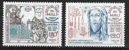 """Mali YT 373 & 374 """" Avicenne """" 1980 Neuf** - Mali (1959-...)"""