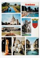 AMIENS - MULTIVUES - CPSM GF NON VOYAGEE - Amiens