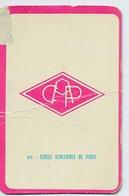 "Carte Miroir Sprint ""SHOOT"" : N°90 : Ecusson: C.A. PARIS (4,5 X 7cm) - Trading Cards"