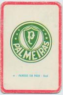 "Carte Miroir Sprint ""SHOOT"" : N°91 : Ecusson: PALMEIRAS SAO PAULO (Brésil) (4,5 X 7cm) - Trading Cards"