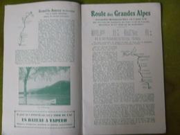 Guide Des Autocars PLM 1935 - Société ATAM, Nice Et TRAFFORT à Grenoble - - Tourisme