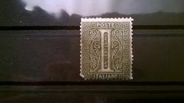 FRANCOBOLLI STAMPS ITALIA ITALY REGNO 1863 CIFRA SERIE NUMERALE DE LA RUE - 1861-78 Vittorio Emanuele II