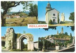 Cpm Reillanne Multivues - France