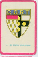 """Carte Miroir Sprint """"SHOOT"""" : N°96 : Ecusson: C.O. ROUBAIX-TOURCOING (4,5 X 7cm) - Trading Cards"""