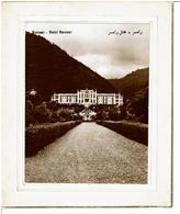 IRAN - RAMSAR - Hôtel Ramsar  ( Carte De Voeux Double Photo Bistre ) - ( Pas Courant ) - VOIR SCANS - Iran