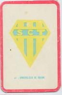 "Carte Miroir Sprint ""SHOOT"" : N°97 : Ecusson: Sporting Club De TOULON (4,5 X 7cm) - Trading Cards"