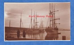 CPA Photo - TOULON ? Environs ? Port à Situer - Superbe Bateau à Identifier - 3 Mats Voile Voilier Boat Ship - Sailing Vessels