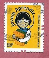 BRASILE USATO 2015 - SOSTENIBILITA - Young Apprentice - 1° St. No Facciale - Michel BR 4244 - Brasile