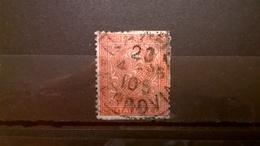 FRANCOBOLLI STAMPS ITALIA ITALY REGNO 1865 CIFRA SERIE NUMERALE DE LA RUE - Usati