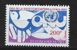 """Mali YT 384 """" Société Des Nations """" 1980 Neuf** - Mali (1959-...)"""