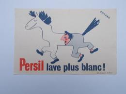 BUVARD : PERSIL LAVE PLUS BLANC - Buvards, Protège-cahiers Illustrés