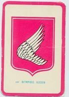 "Carte Miroir Sprint ""SHOOT"" : N°110 : Ecusson: OLYMPIQUE ALES (4,5 X 7cm) - Trading Cards"