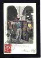 CPA Cuba La Havane Métier Marchand Ambulant Circulé - Cartes Postales