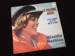 Vinyle 45 Tours Mireille Mathieu La Paloma, Adieu (1973) - Vinyl Records